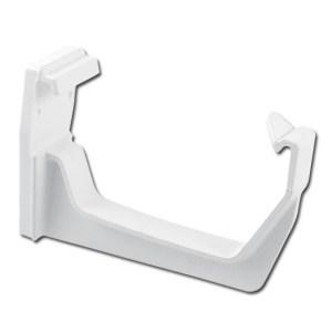 Square Gutter Fascia Bracket (White) | Guttering | PVC Gutter | PVC Rainwater Goods | Faster Plastics