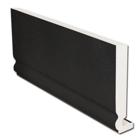 16mm Ogee Fascia - Black | Faster Plastics