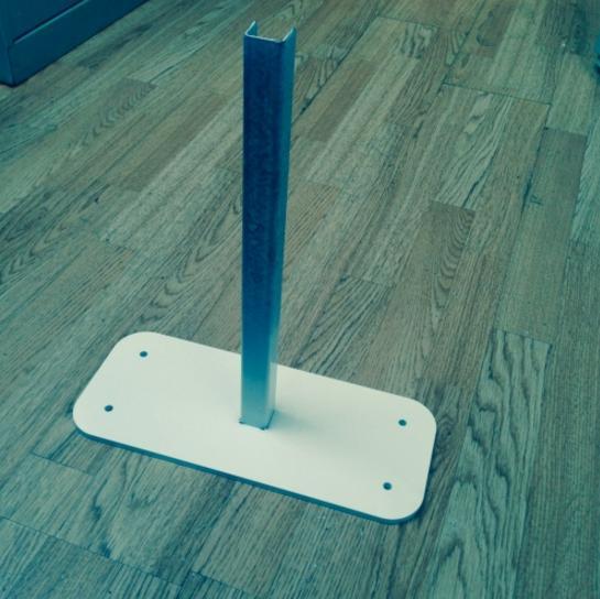 Stabilising Foot | Stabilising Post | PVC Fencing | PVC Fence | Faster Plastics