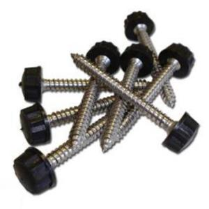 50mm Fixing Screws | Cast Iron Effect Gutter | PVC Gutter | Faster Plastics