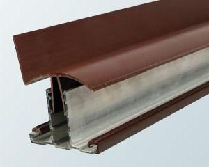 Snap-Down Wall Bar Top Cap | Timber Glazing Bars | Faster Plastics