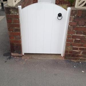 Small PVC Gate | PVC Gate | Plastic Gates | PVC Gates and Fences | Faster Plastics