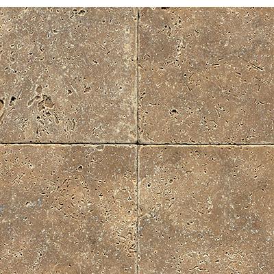 daltile travertine natural stone tumbled 16 x 16 noce