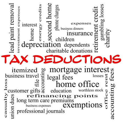 19 Most Popular Tax Deductions For