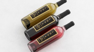 Three Wines on Cloth