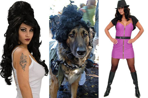 Amy Winehouse. Terrible Halloween Costume Ideas - Amy Winehouse