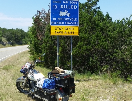 Good Motorcycle Morning traverses the Twisted Sisters Route in Texas.