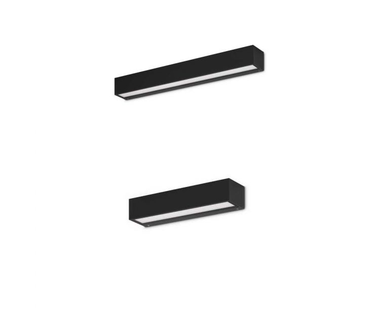 jcc linear led wall up down surface mount architectural exterior lighting ip65