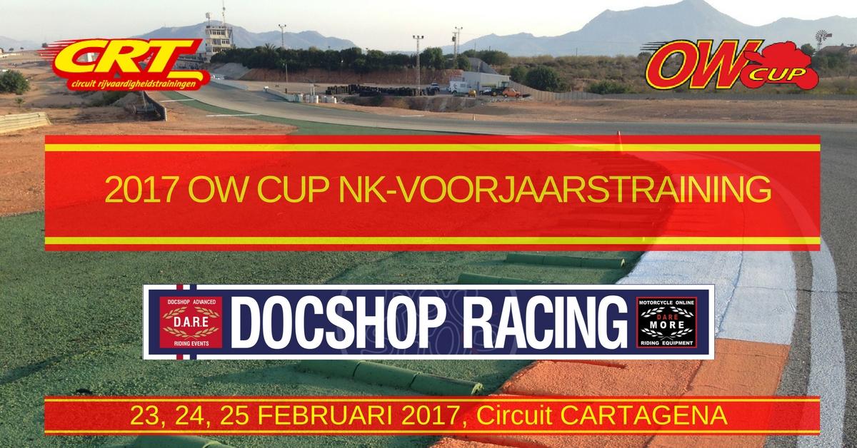 2017 OW CUP Voorjaarstraining CartagenaNL
