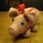 Hæklet gris (hækleopskrift)