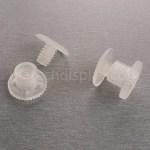 H7mm Plastic låseknap/ Skruer ,  Dukke/bamse samleled