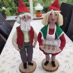 Hæklet Julle og Juliane (hækleopskrift)