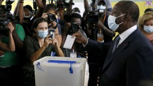 Alassane Ouattara Re-elected For The Third Time As Ivory Coasts' President With 94% Of Votes. 56
