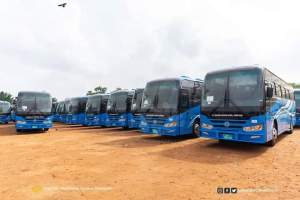 Minister for Education hands over 120 Buses to SHSs 2