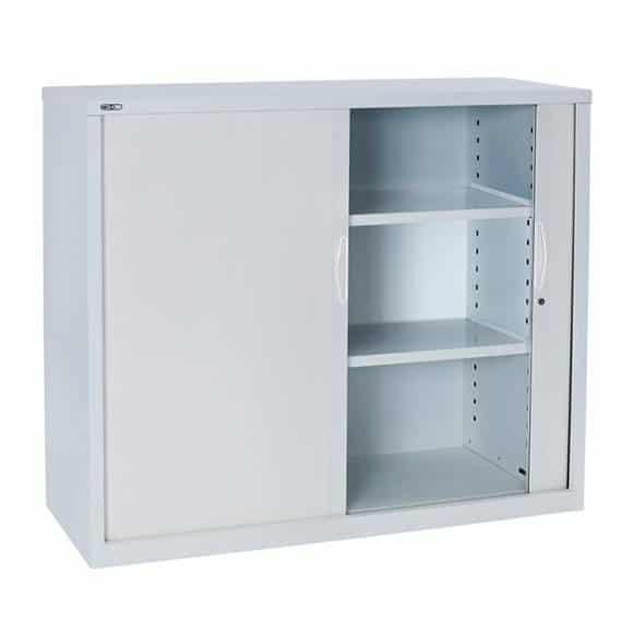 Inspirational Tambour Door Storage Cabinet