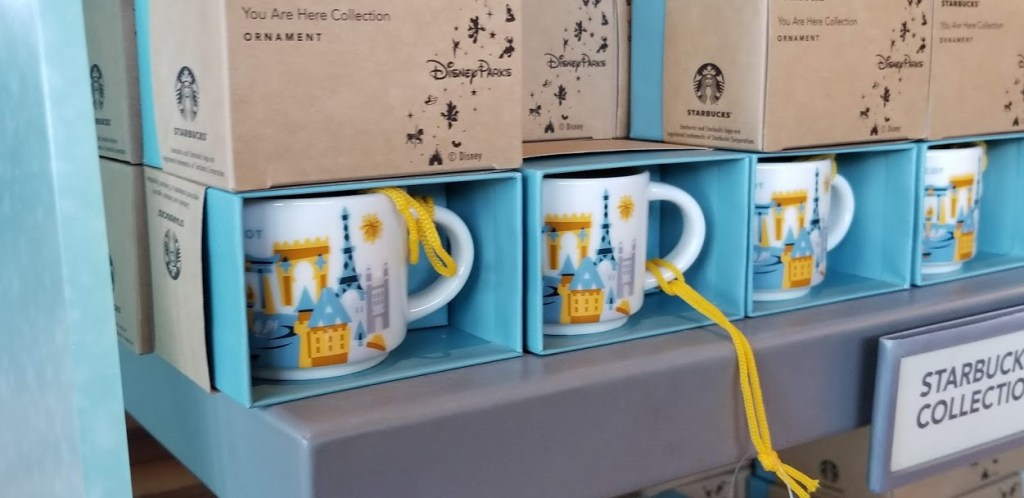 Disney Starbucks Ornaments