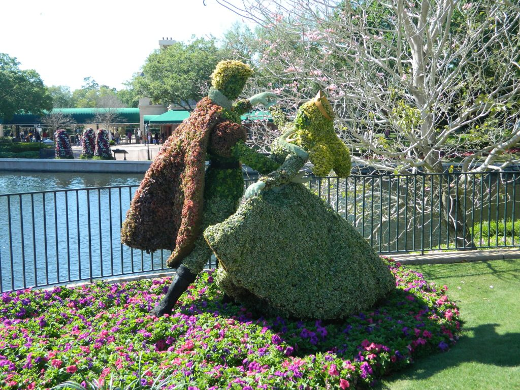 Topiaries at the 2019 Epcot International Flower & Garden Festival