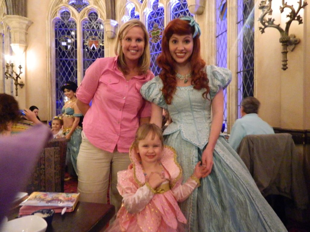 Princess Character Dining Experience at Cinderellas Royal Table