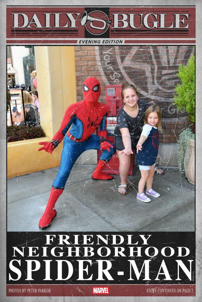 MagicShots with SpiderMan
