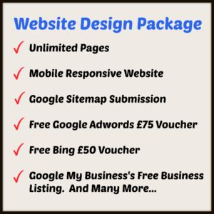 Website Design Package at an affordable price