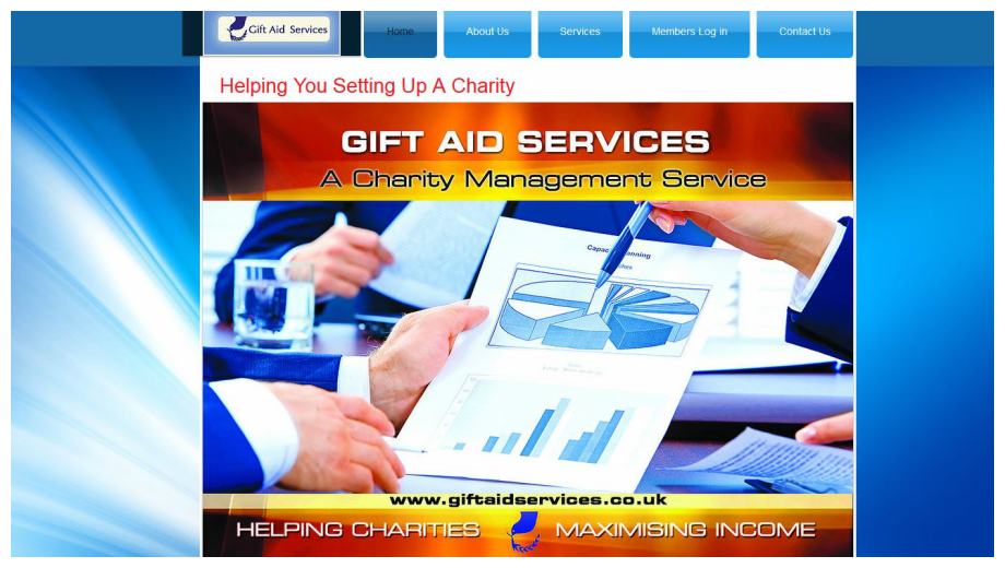Gift Aid Services Web Banner