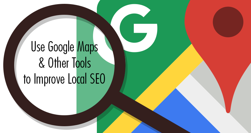 Image result for use google map and other tools to increase seo