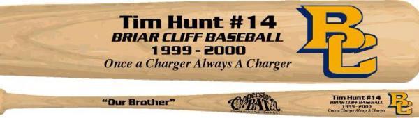 Tim Hunt bat