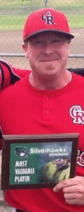 Tim Hunt, shown in 2011 after winning the Most Valuable Player award for the Bakersfield Tournament.