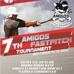 7th Amigos Fastpitch Tournament – Hayward, CA – November 14-15, 2015