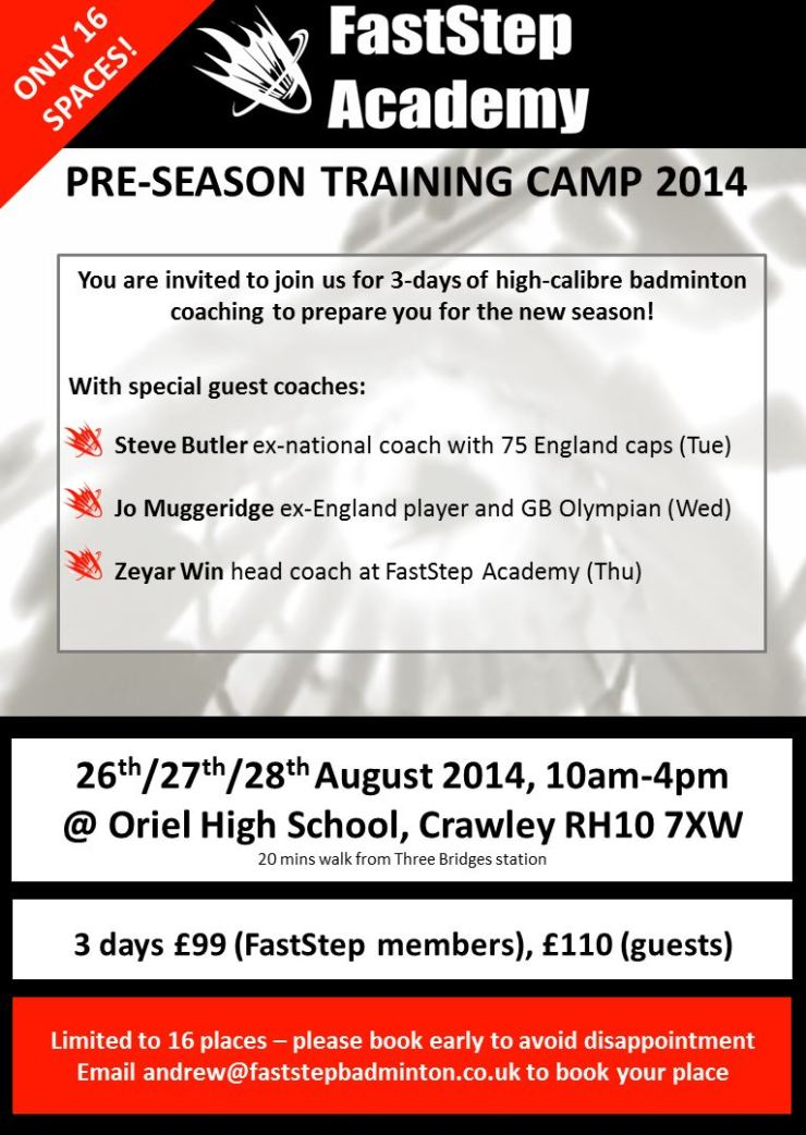 FastStep Summer Camp 2014