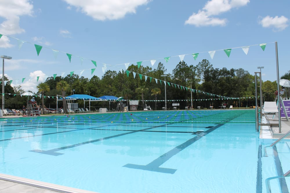 Pool at New Tampa YMCA