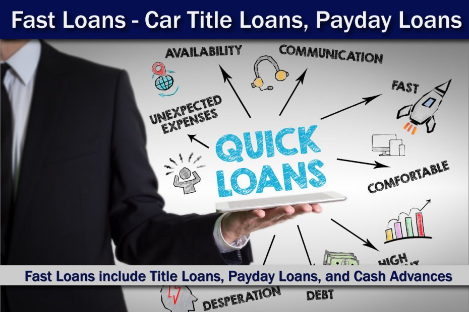 Fast Loans - Car Title Loans, Payday Loans