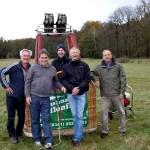 Start frei 2014 für Ballonteam Faszination Ballonfahrt
