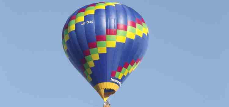 """3. Fahrt mit Ballon """"OLGO"""""""