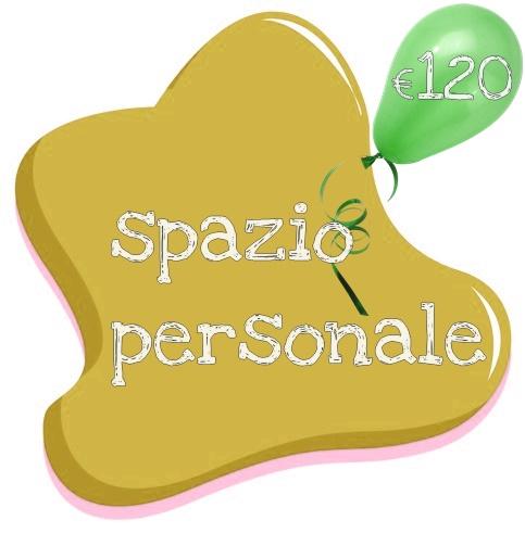 spazio personalizzato 120 euro
