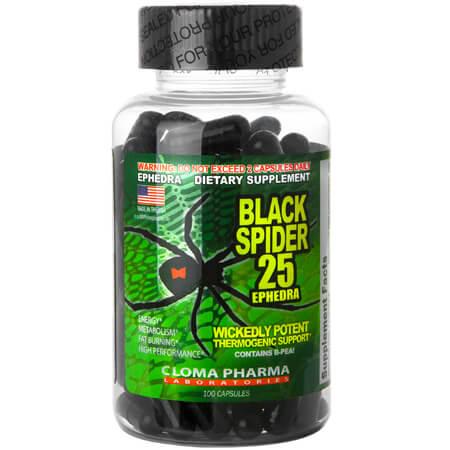 Cloma Pharma Black Spider ECA