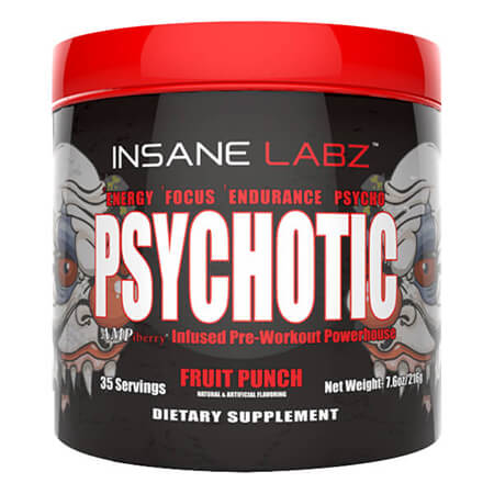 Insane Labz Psychotic Fruit Punch, psychotic insane labs - psychotic-booster