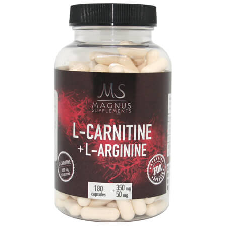 L-Carnitin L-Arginin Magnus Supplements, L-Carnitine L-Arginine Magnus Supplements