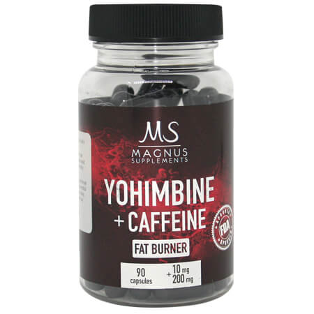 Yohimbine Caffeine Magnus Supplements Fatburner