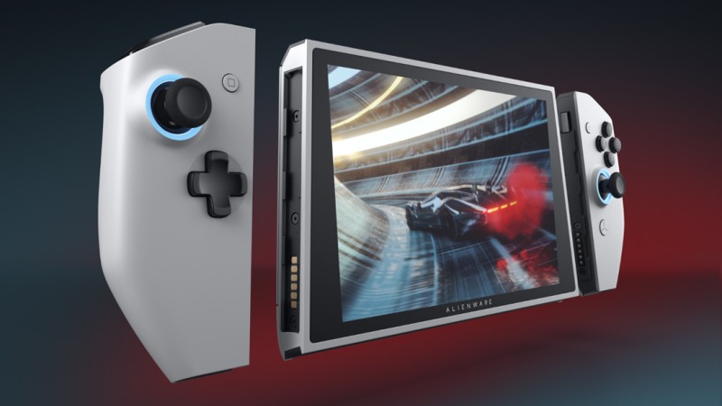 Alienware Unveils Concept UFO, A Handheld PC Prototype Heavily Influenced By Nintendo Switch