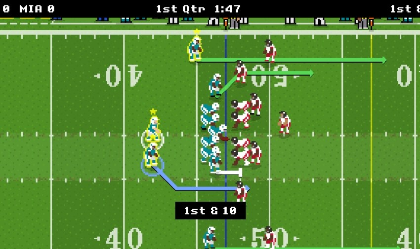Retro Bowl is a new American football sim for iOS and Android from the creators of New Star Soccer