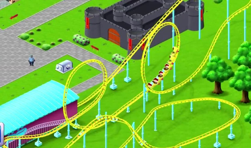 RollerCoaster Tycoon Story is a colourful match-3 puzzler for iOS and Android