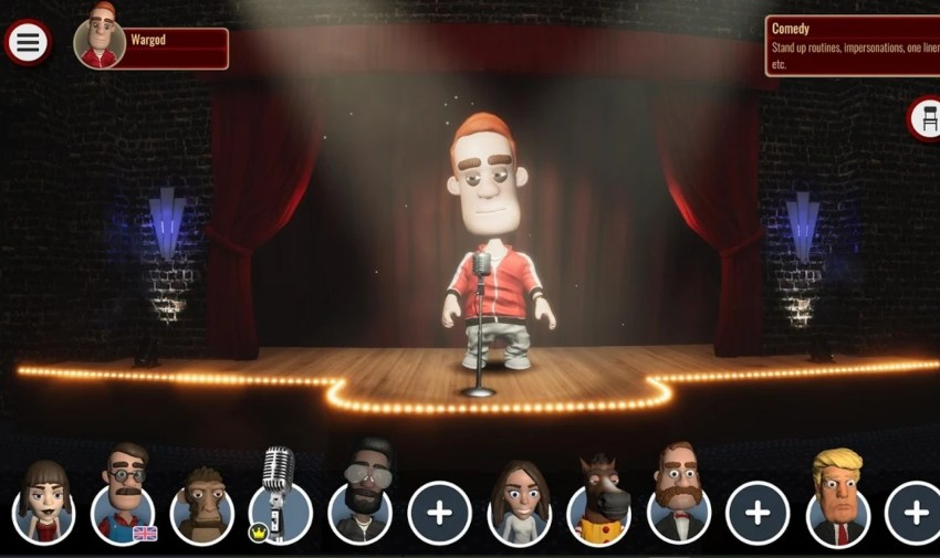 Comedy Night, the live stand-up simulator, will be heading for iOS and Android next week