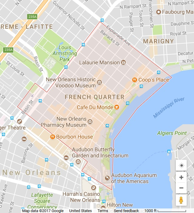 The French Quarter Is A Very Exciting Place To Hang Out In New Orleans.  There Are Beautiful Works Of Architecture, Plenty Of Shopping  Opportunities, ...