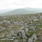 Our next two destinations: Little Dun Fell and Great Dun Fell.