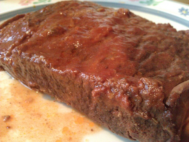 Low carb beef brisket in crockpot