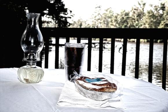 Breakfast at the Lagoon