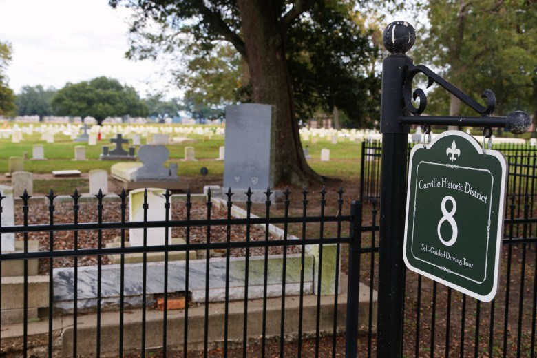 carville cemetery