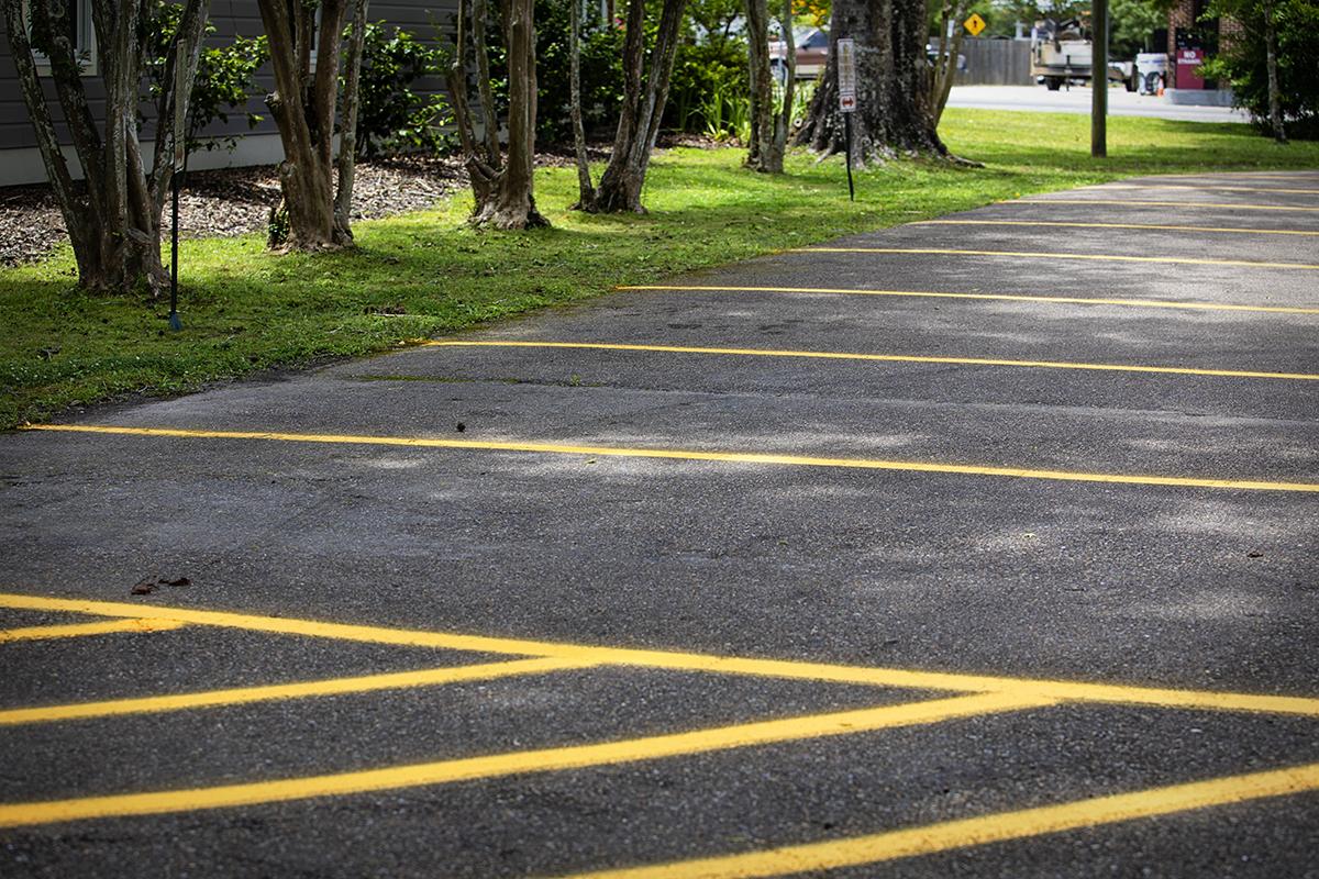 Parking Lot Restriping