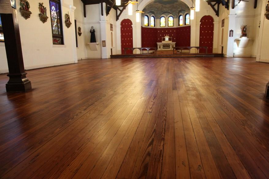 The Floors Redone